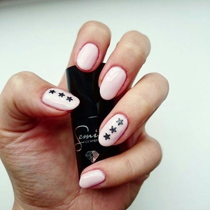Semilac nails
