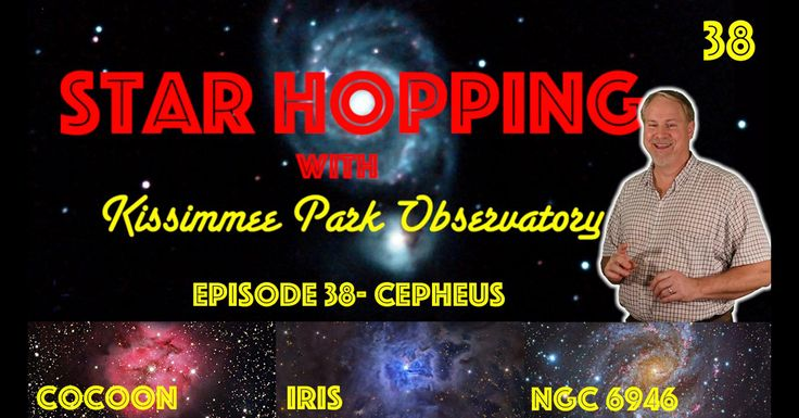 Star Hopping Replay - three targets for the big guns. Two beautiful nebulae and an exploding galaxy can be found in the King of Constellations, Cepheus. Visit