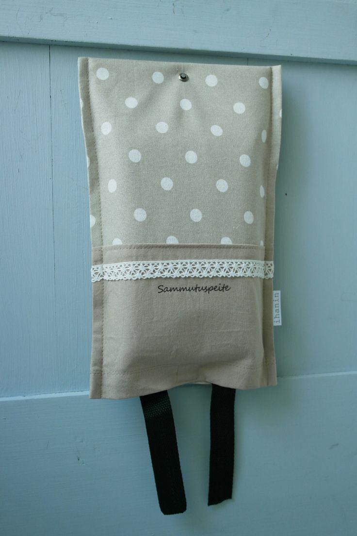 Ihan.in käytännöllisiä sammutuspeitteen suojapusseja löytyy joka sisustukseen sopivissa väreissä ja kuoseissa.
