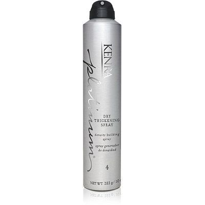 Kenra ProfessionalPlatinum Dry Thickening Spray...I need more of this! Works great for my thin hair. All Kendra products are incredible