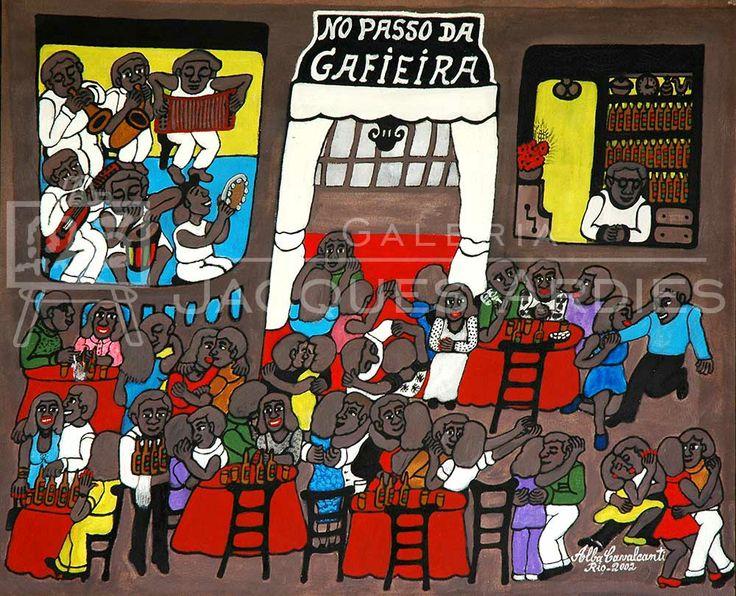 Alba Cavalcanti - No passo da Gafieira - 71x87