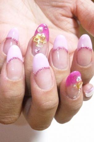 Acrylic French Manicure Idea
