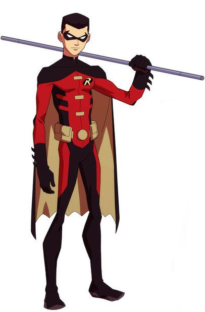Got caught up on Young Justice yesterday while working on wedding crap.  Nearly squealed when it was Tim Drake's Robin in season 2!