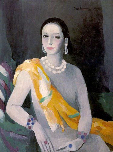 Helena Rubinstein by Marie Laurencin