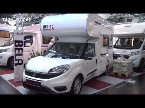 MiniCamper FIAT DOBLO Bela Trendy 2018 (wohnmobil) - YouTube