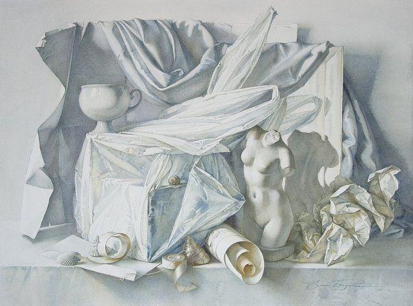 """Белое на белом"", 2009"