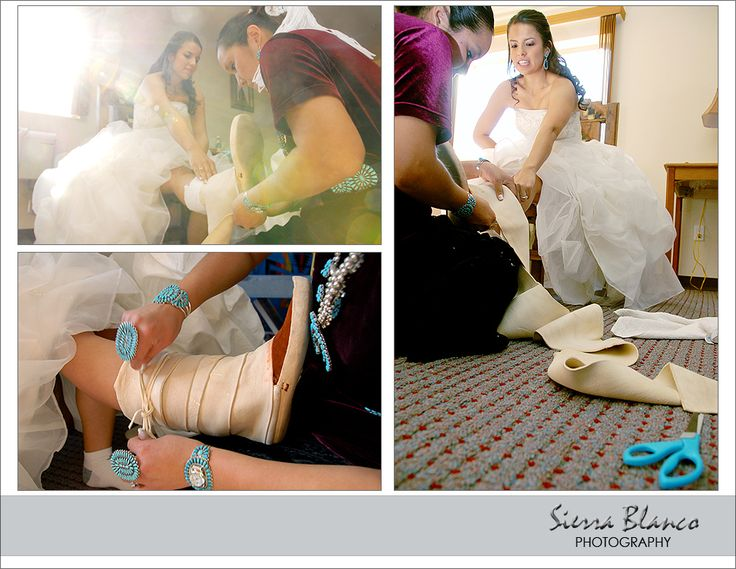 Love how the traditional concept is incorporated in a modern wedding.  Something to look into...