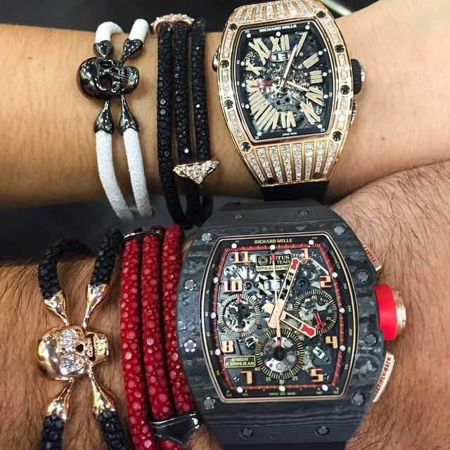 His  & Hers  - #StingHD ❌ Richard Mille @VaultWorldWide #MiamiBeach ☀️- www.StingHD.com -