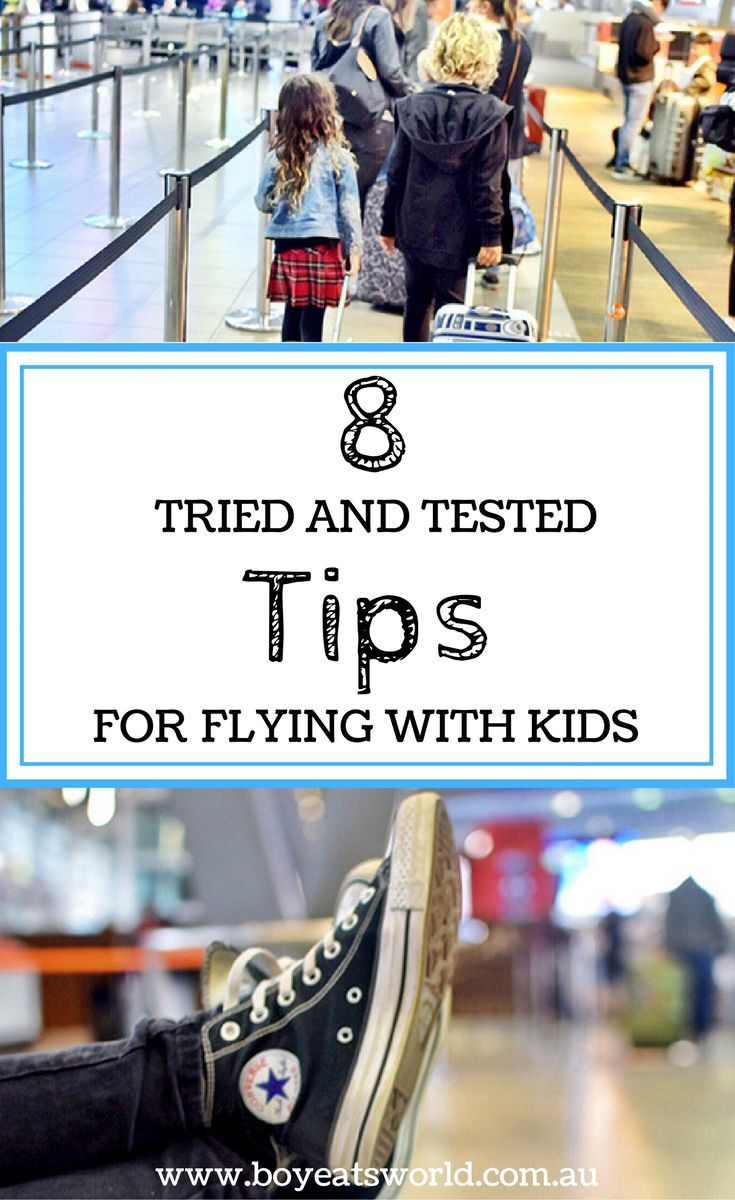 So for the sake of your sanity, here we are sharing our 9 tried and tested tips for flying with kids …