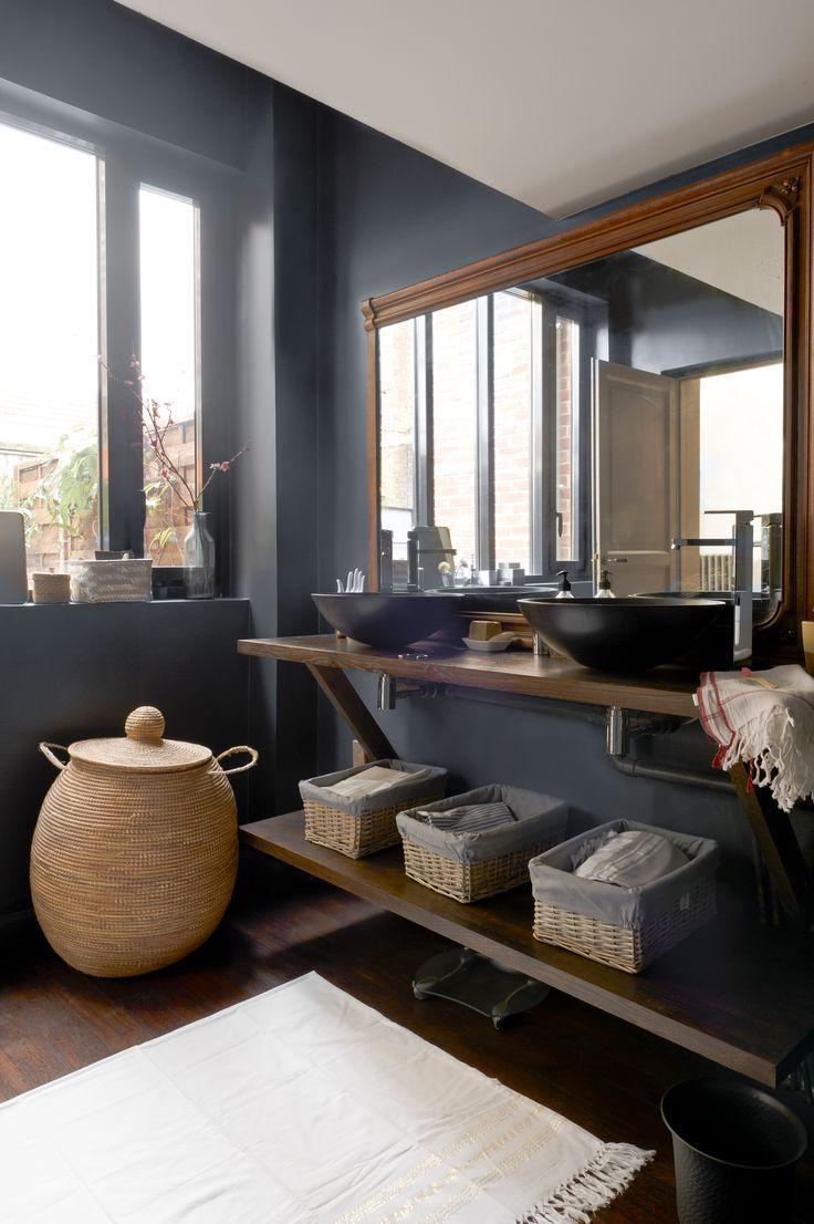 108 best images about bathroom salle de bain on pinterest cement bathroom - Idee renovation toilettes ...