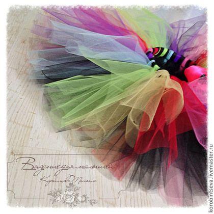 Юбка TuTu Новогодняя Радуга (на 3-6 лет) - юбка туту,юбка пачка,комплект для девочки