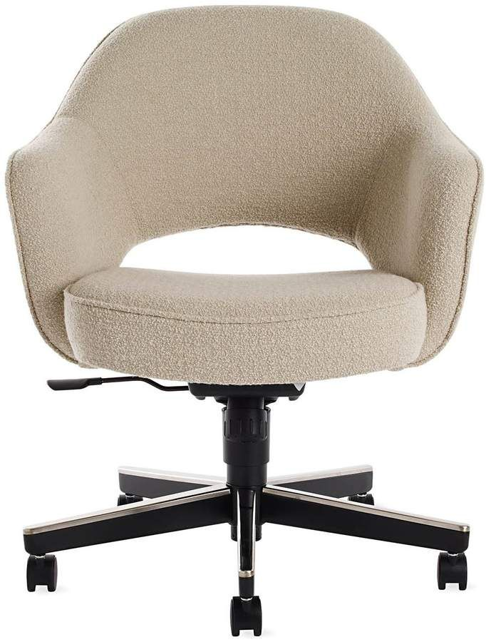 Saarinen Executive Armchair With Casters House Furniture Design
