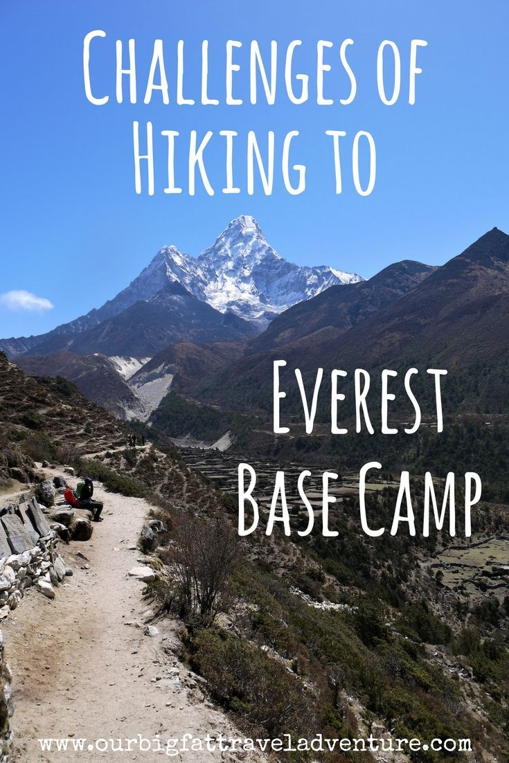 From altitude sickness to stomach bugs, freezing temperatures and erratic weather, here are the challenges of hiking to Everest Base Camp in Nepal.