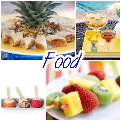 Easy Pool Party Food Ideas diy pool party food decorating ideas Pool Party Food