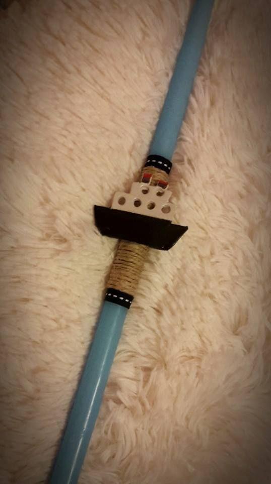 """Γαλάζια λαμπάδα με πήλινο βαπόρι. fb:Μικρά Δημιουργήματα """"fgr""""- Little Crafts """"fgr"""""""