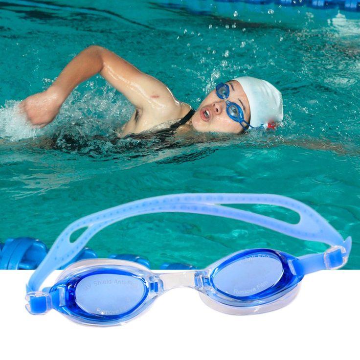 Professional ANTI-UV Swim Goggles Swimming glasses PC Lens PVC for Men Women Children Gafas Natacion