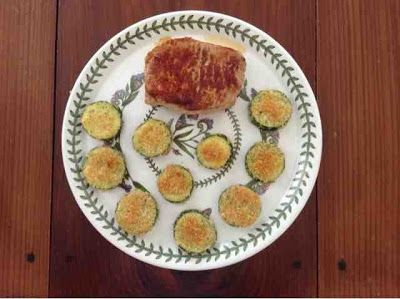 Gluten Free in Orlando: Oven Baked Breaded Zucchini Rounds