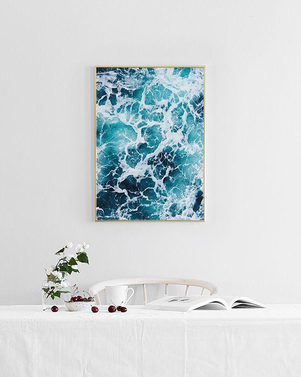 Sea foam, affiche dans le groupe Affiches / Produits-phares chez Desenio AB (8323)