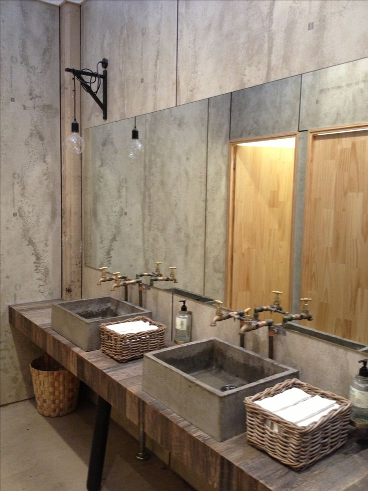 Best 25 public bathrooms ideas on pinterest restaurant for Industrial bathroom ideas