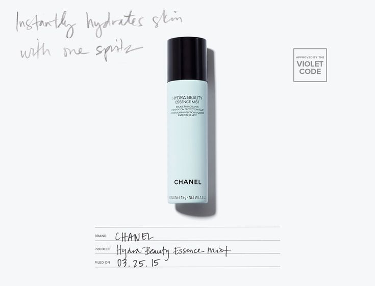 Chanel Hydra Beauty Essence Mist l A rejuvenating spray that instantly satiates and brightens skin l Editor's Pick l The Violet Files l @violetgrey