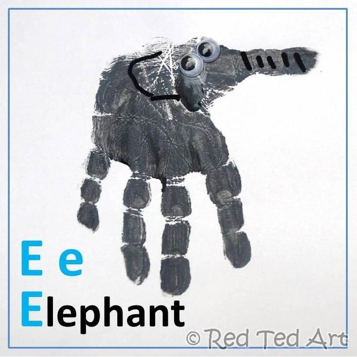 E is for Elephant...