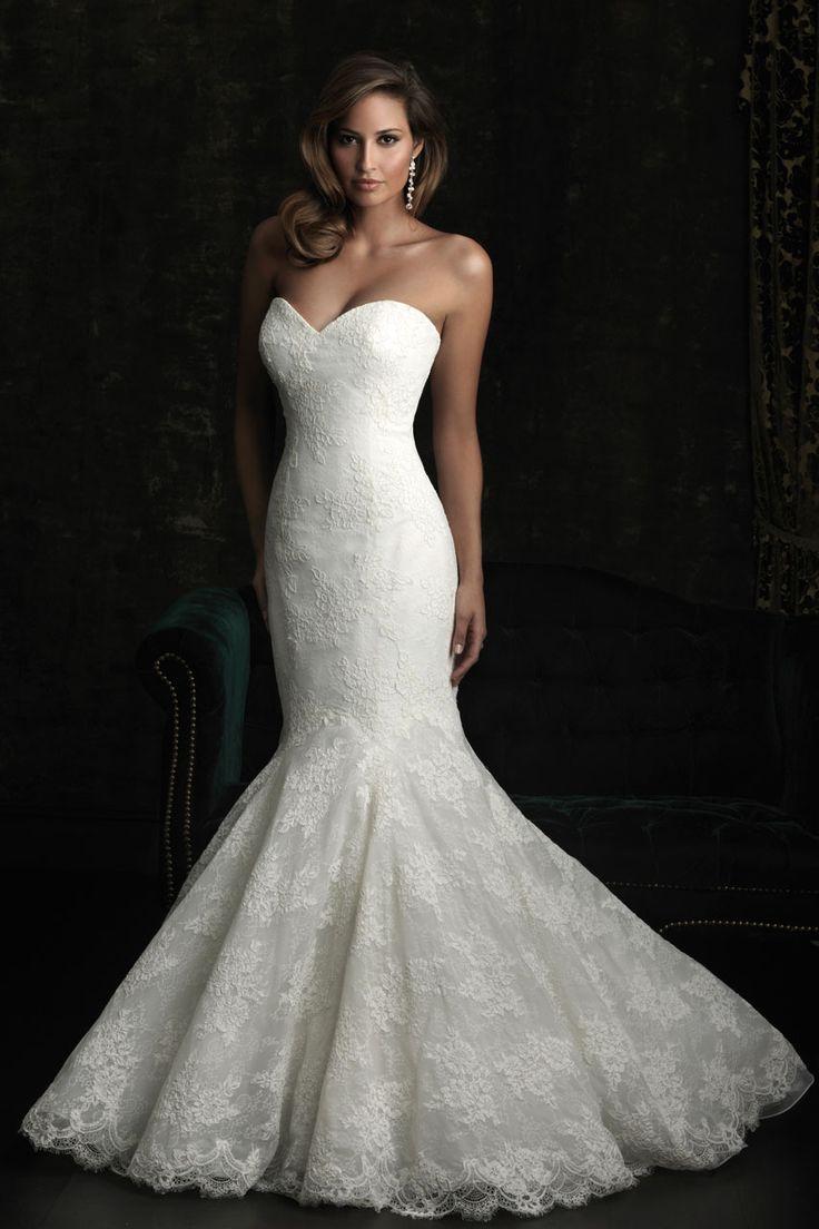 Allure Bridals...love this shape: Wedding Dressses, Lace Wedding Dresses, Mermaids Wedding Dresses, Weddings, Bridal Gowns, Dreams Dresses, Allure Bridal, The Dresses, Mermaids Dresses