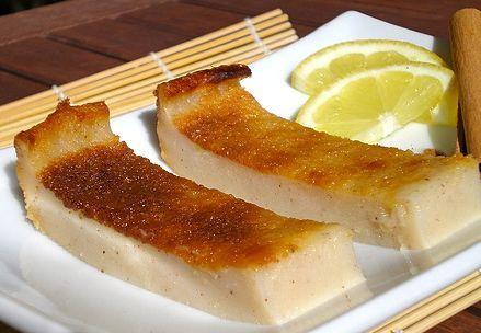 Quesada  Pasiega  - Spanish cheesecake from the Cantabrian region of Spain.