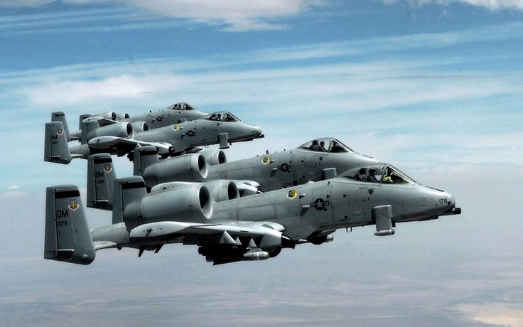 A-10 ''Thunderbolt II''_Vol en formation