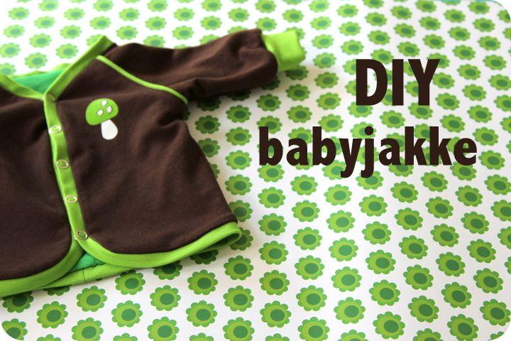 Herunder får du vejledningen til, hvordan jeg har lavet babyjakken.   Mønsteret kan du finde som pdf-fil lige her .     Ja...