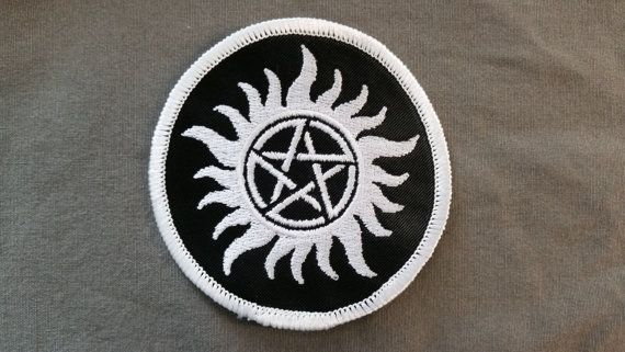 Supernatural Anti Possession Patch FREE SHIPPING by TinasStitchery