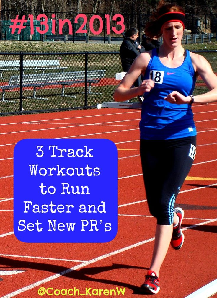 Track workouts to set new PR's