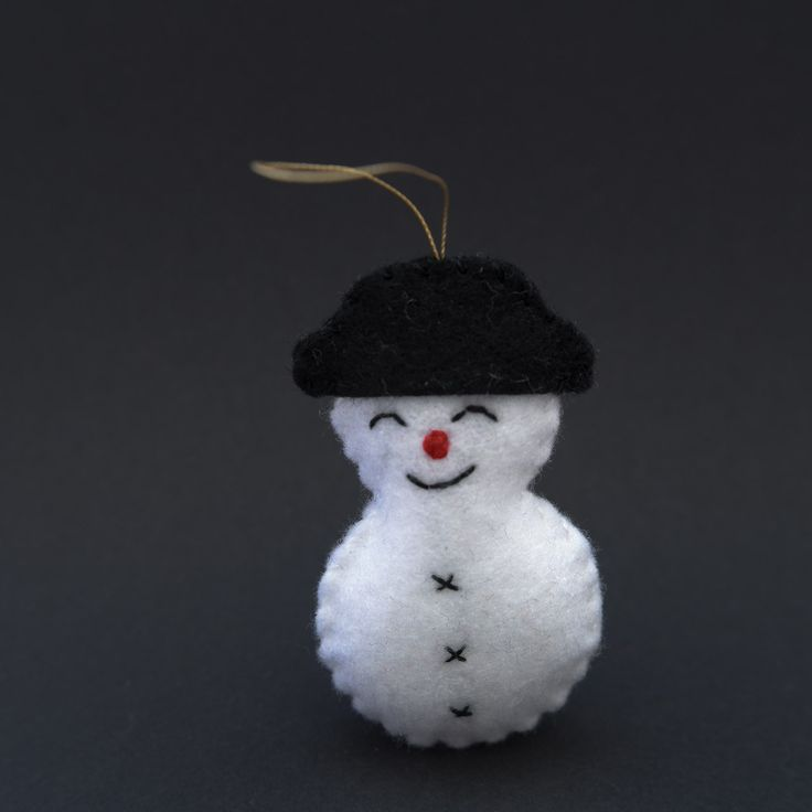 Dreaming snowman  - snowman, christmas decor, christmas gift, christmas decoration, cute, adorable. by HalloweenOrChristmas on Etsy