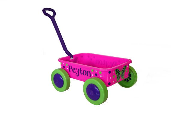 Hey, I found this really awesome Etsy listing at https://www.etsy.com/listing/151521391/personalized-short-toy-pull-wagon-baby