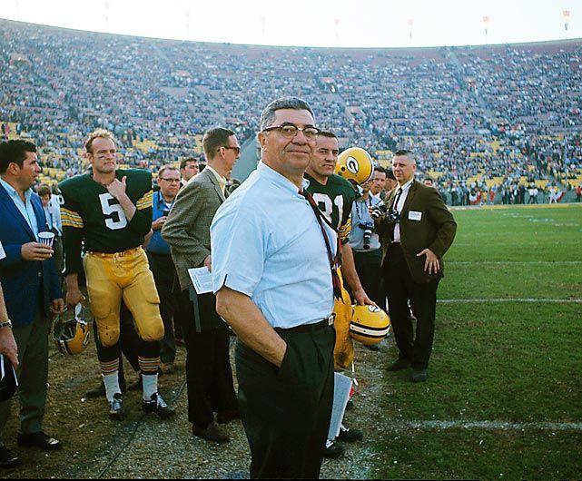Super Bowl I Vincent Lombardi