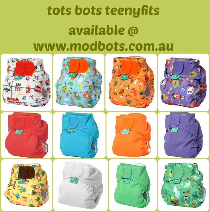 Tots Bots Teenyfit  Perfect newborn nappy!