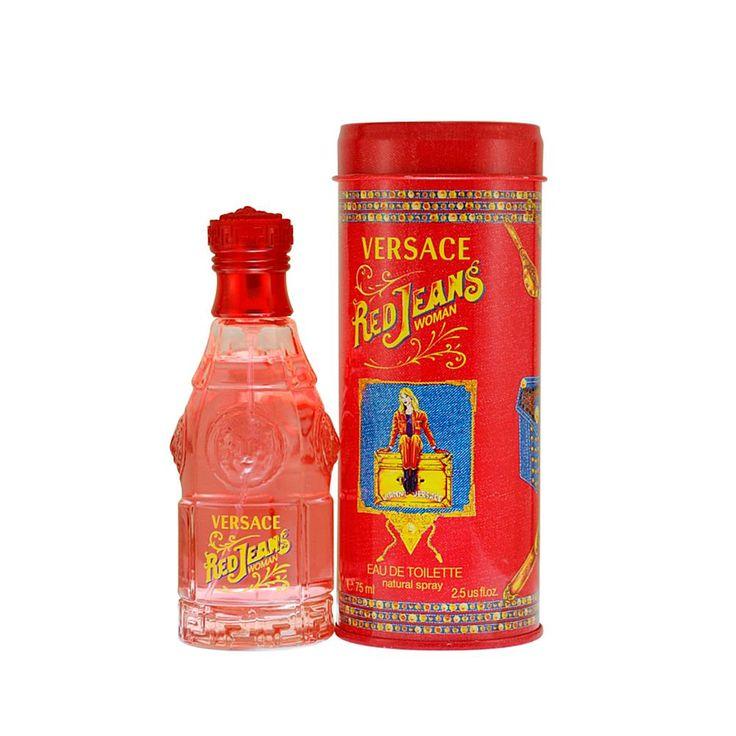 Red Jeans for Women by Gianni Versace - Eau De Toilette Spray 2.5 Oz