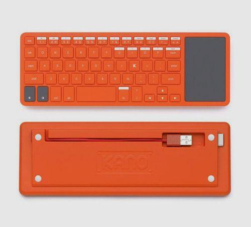 Products we like / Keyboard / orange / Kano / Consumer Electronics / Sleek Design