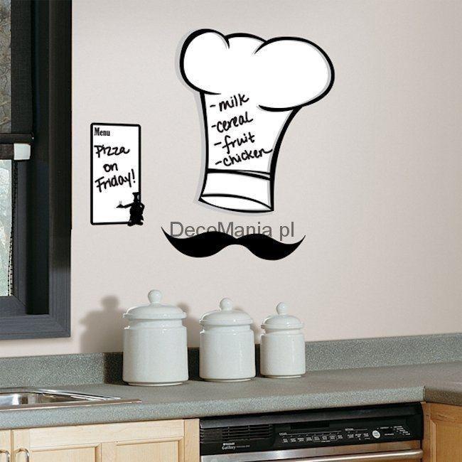 Naklejki ścienne RoomMates RMK1727GM Czapka kucharska