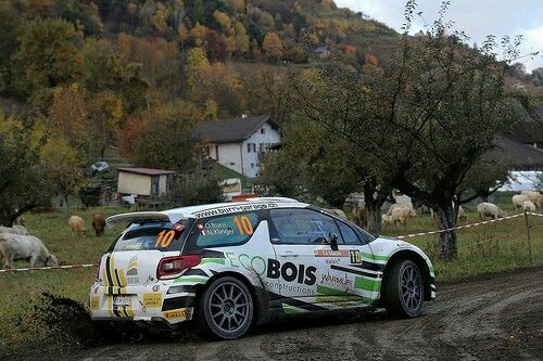 Citroen DS3 R5 Olivier Burri