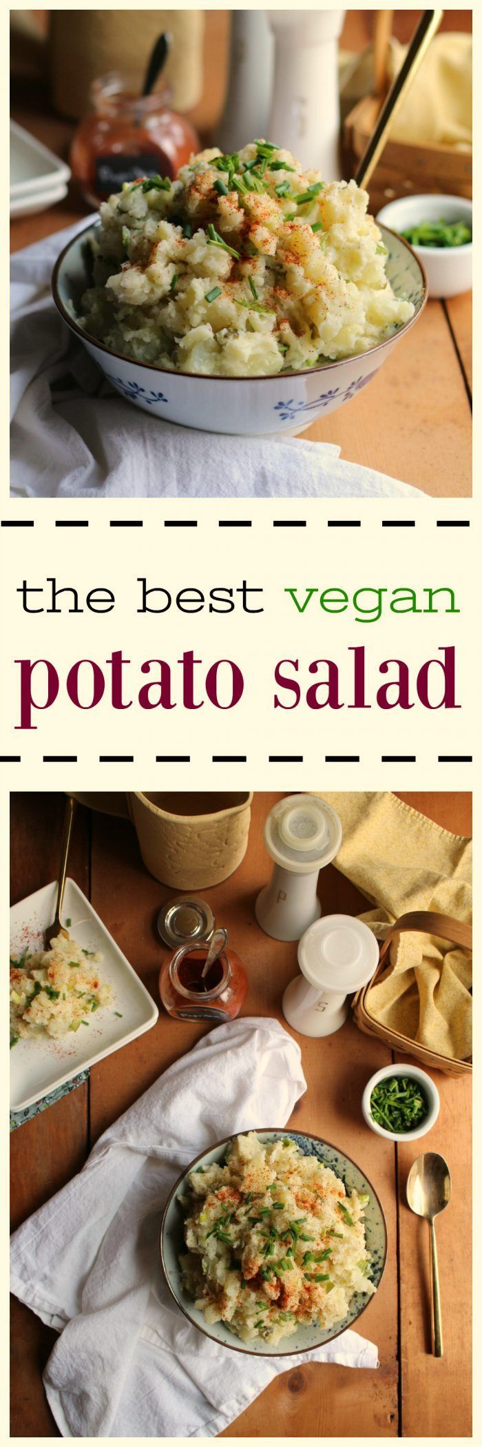 The Best Vegan Potato Salad.