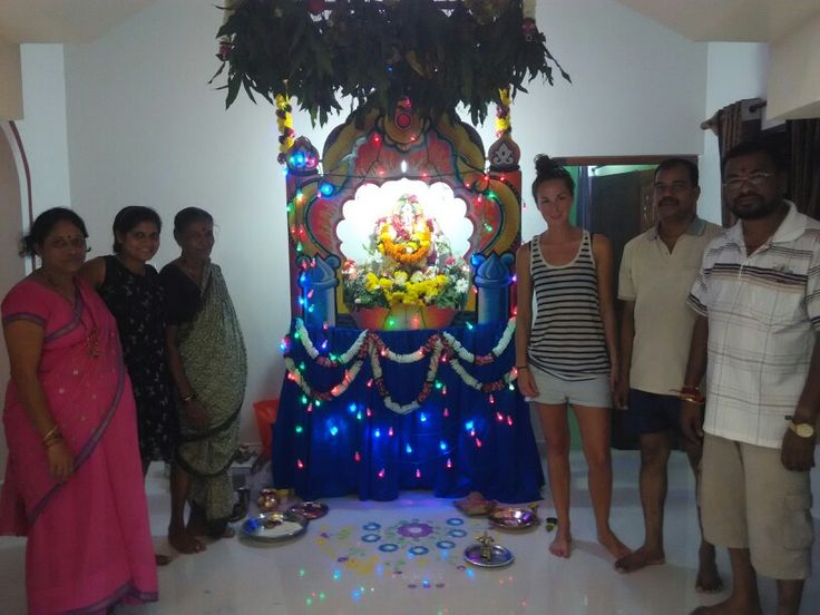 Ganpati celebration