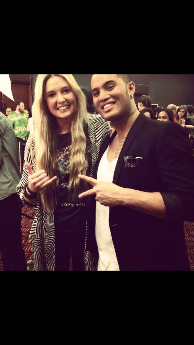 Jamie McDell and Stan Walker