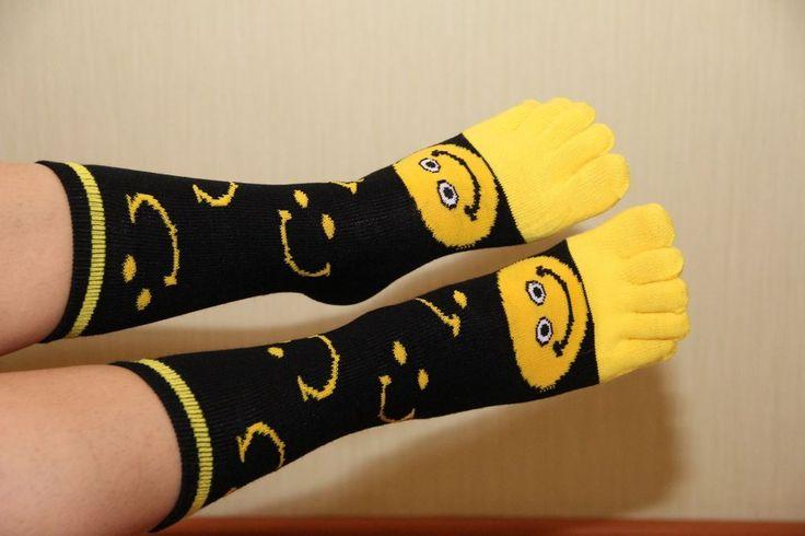 socks with toes, women's socks, smile socks, Socks with fingers #Unbranded #Athletic