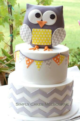 Adorable Baby Shower Cake~So cute!!
