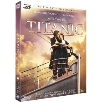 TITANIC Combo 2D + 3D. #Drama #Comprar #Peliculas #Bluray. Rose (Kate Winslet) es una joven de clase alta agobiada por su arrogante prometido. Jack (Leonardo DiCaprio) es un artista de espíritu libre que abre los ojos de Rose y le roba el corazón. Cuando el buque colisiona con un iceberg en el Atlántico Norte, el v...