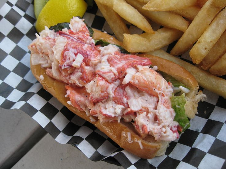 Stewman's Lobster Pound - Bar Harbor, Maine. Yes, the lobster roll was AMAZING!!!