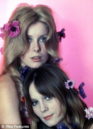 Catherine Deneuve and Francoise Dorleac