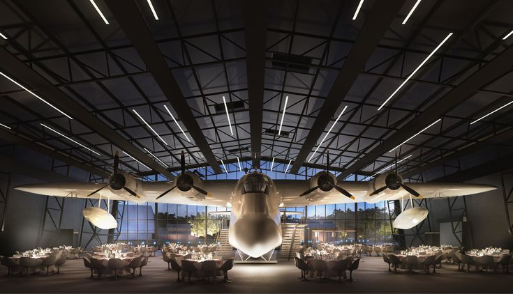 Nex Architecture Unveils Design for New Royal Air Force Museum in London