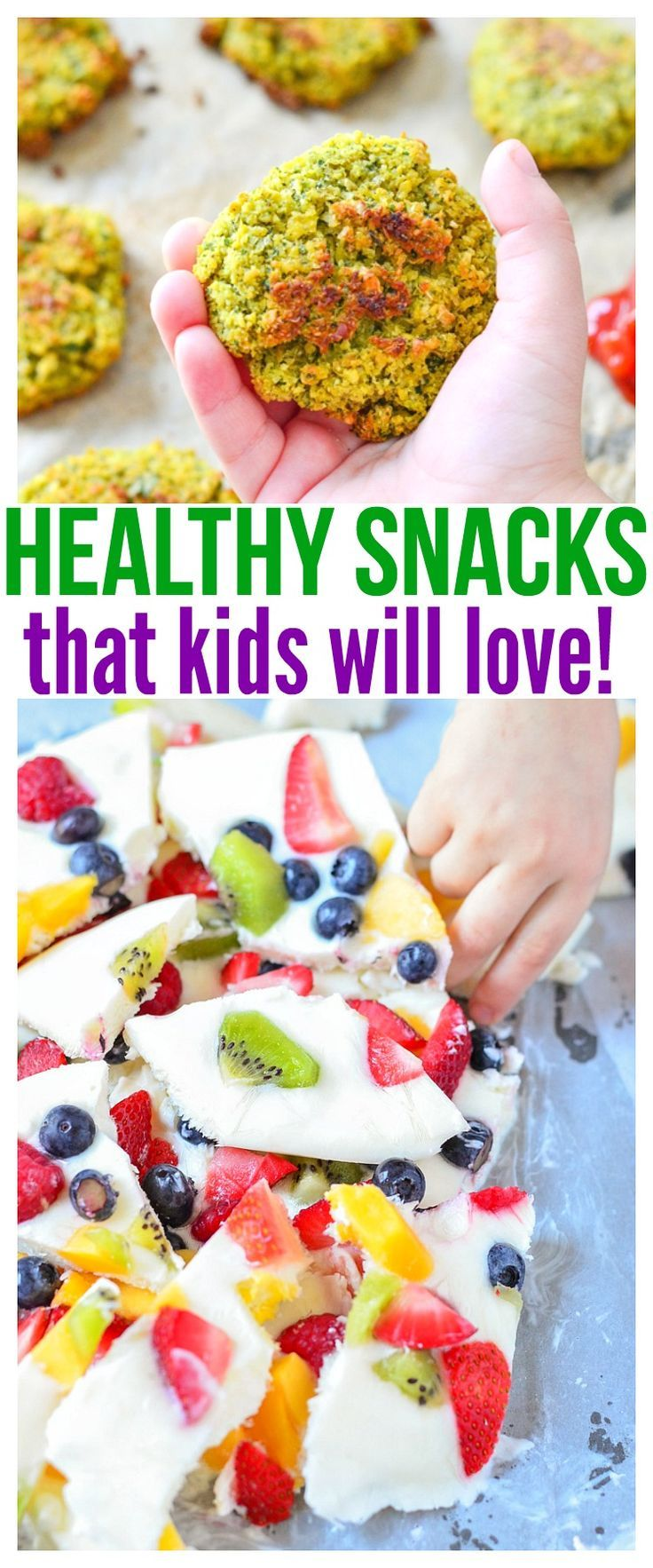 Whether you're looking for healthy snacks for kids on the go or healthy snacks for picky eaters at home, we have a ton of fun kid friendly recipes in this food round up that will definitely get praise from parents and kiddos!