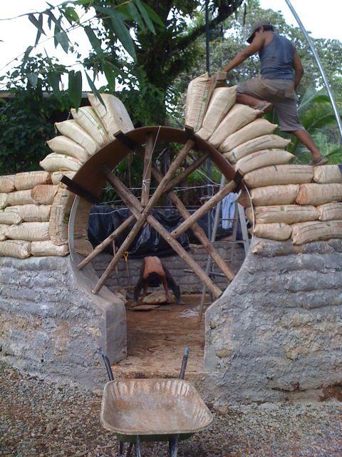 Earthbag building inspiration